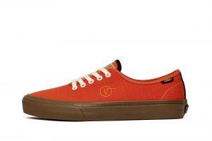 נעליים ואנס לגברים Vans UA TH AUTHENTIC ONE (CANVAS) SPICY - אדום