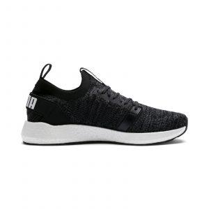 נעליים פומה לגברים PUMA NRGY Neko Engineer Knit - שחור/לבן
