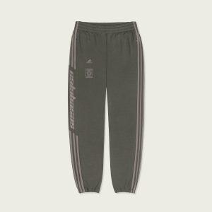 ביגוד Adidas Originals לגברים Adidas Originals Calabasas Track Pants - ירוק זית