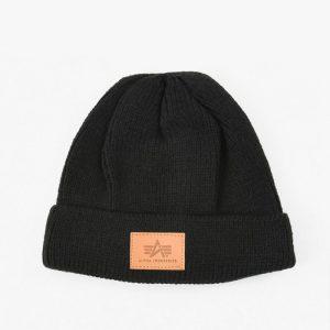 ביגוד אלפא אינדסטריז לגברים Alpha Industries Docker Hat - שחור