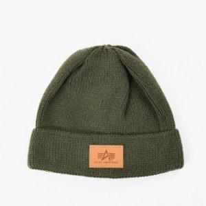 ביגוד אלפא אינדסטריז לגברים Alpha Industries Docker Hat - ירוק