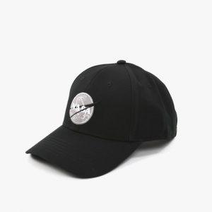 ביגוד אלפא אינדסטריז לגברים Alpha Industries Nasa Cap - שחור