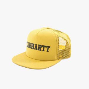 ביגוד קארהארט לגברים Carhartt WIP College Trucker - צהוב