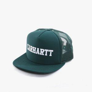 ביגוד קארהארט לגברים Carhartt WIP College Trucker - ירוק
