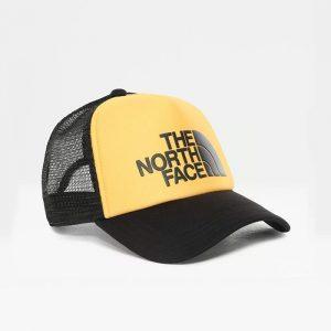 ביגוד דה נורת פיס לגברים The North Face Logo Trucker - צהוב