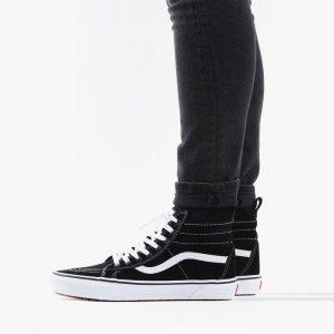 נעלי סניקרס ואנס לגברים Vans Sk8-Hi - שחור/לבן