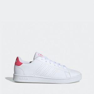 נעליים אדידס לנשים Adidas Advantage K - לבן/אדום