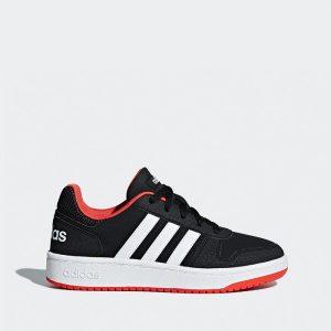 נעליים אדידס לנשים Adidas Hoops 2.0 - שחור