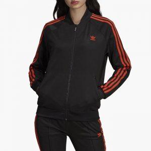 ביגוד Adidas Originals לנשים Adidas Originals 3-Stripes Track Jacket - שחור