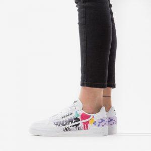 נעליים Adidas Originals לנשים Adidas Originals Continental 80 J - לבן הדפס