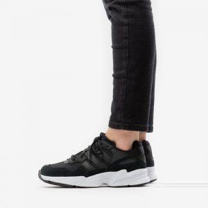 נעליים Adidas Originals לנשים Adidas Originals Yung-96 - שחור/לבן