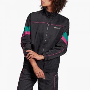 ביגוד Adidas Originals לנשים Adidas Originals Tech Track Jacket - שחור