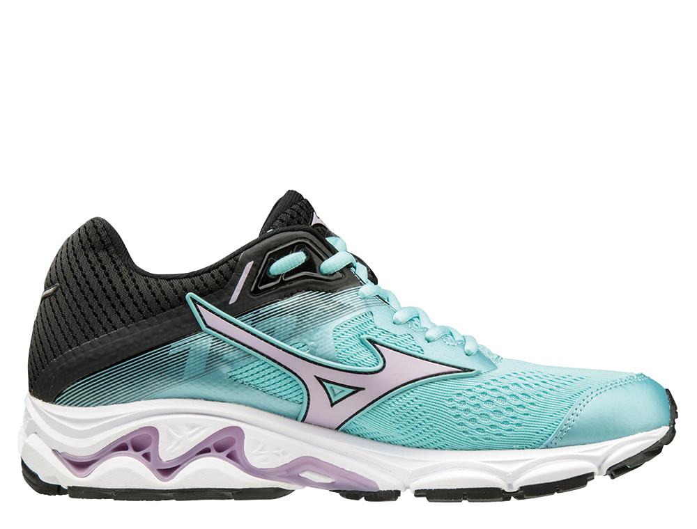 נעליים מיזונו לנשים Mizuno WAVE INSPIRE 15 - שחורטורקיז