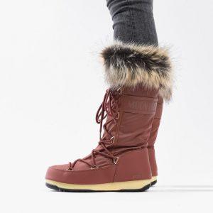 נעליים מונבוט' לנשים Moon Boot Boot Monaco WP 2 - אדום יין
