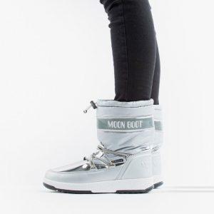 נעליים מונבוט' לנשים Moon Boot Boot Soft WP - כסף