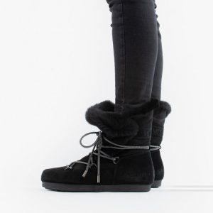 נעליים מונבוט' לנשים Moon Boot Far Side High Shearling - שחור