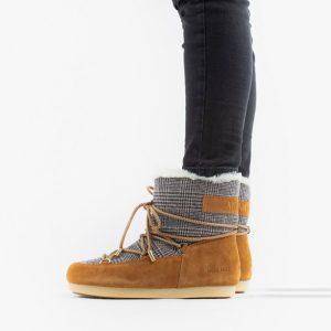 נעליים מונבוט' לנשים Moon Boot Far Side Low Fur - חום