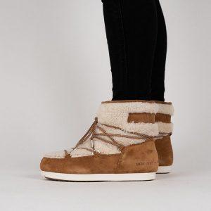נעליים מונבוט' לנשים Moon Boot Far Side Low Shear - חום
