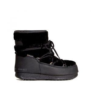 נעליים מונבוט' לנשים Moon Boot Monaco Low Fur Wp 2 - שחור