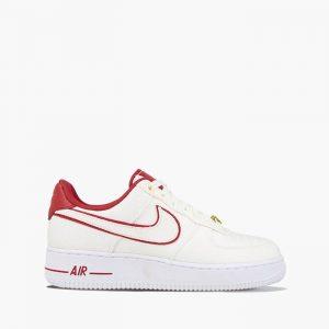נעליים נייק לנשים Nike Air Force 1 07 LX - לבן/אדום