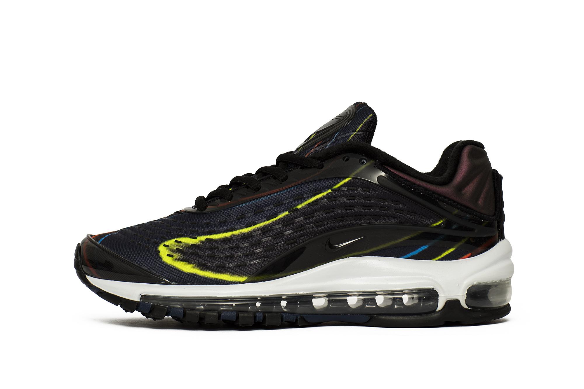 נעליים נייק לנשים Nike BUTY W NIKE AIR MAX DELUXE - שחור הדפס