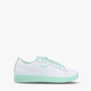 נעליים פומה לנשים PUMA Smash v2 - לבן/ירוק