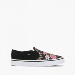 נעליים ואנס לנשים Vans Asher - שחור הדפס