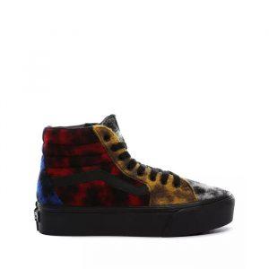נעליים ואנס לנשים Vans Sk8-Hi Platform 2.0 - צבעוני כהה