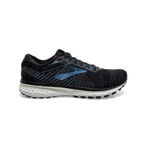 נעליים ברוקס לגברים Brooks Ghost 12 - שחור/אפור