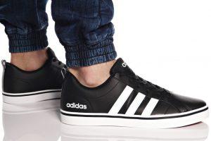 נעלי סניקרס אדידס לגברים Adidas VS PACE - שחור/לבן