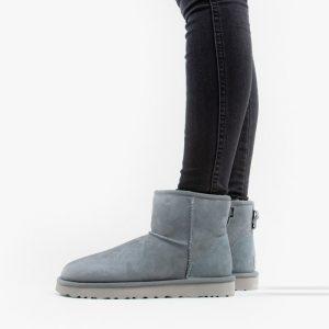 נעליים האג לנשים UGG Classic Mini II - אפור בהיר