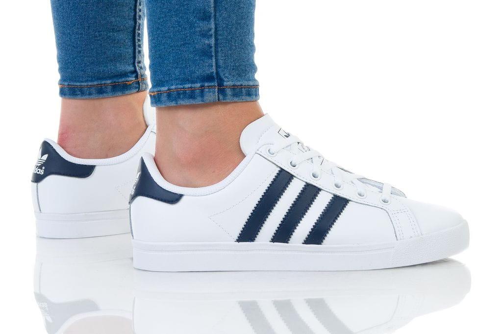 נעליים אדידס לנשים Adidas Coast Star - לבן/ כחול