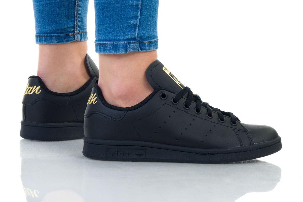 נעלי סניקרס אדידס לנשים Adidas STAN SMITH W - שחור/צהוב