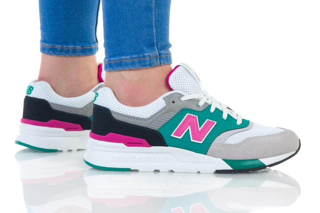 נעליים ניו באלאנס לנשים New Balance 997 - צבעוני בהיר