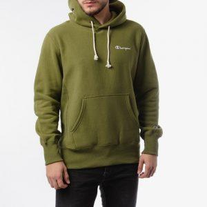 ביגוד צ'מפיון לגברים Champion Hooded - ירוק