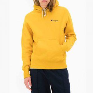 ביגוד צ'מפיון לגברים Champion Hooded - צהוב