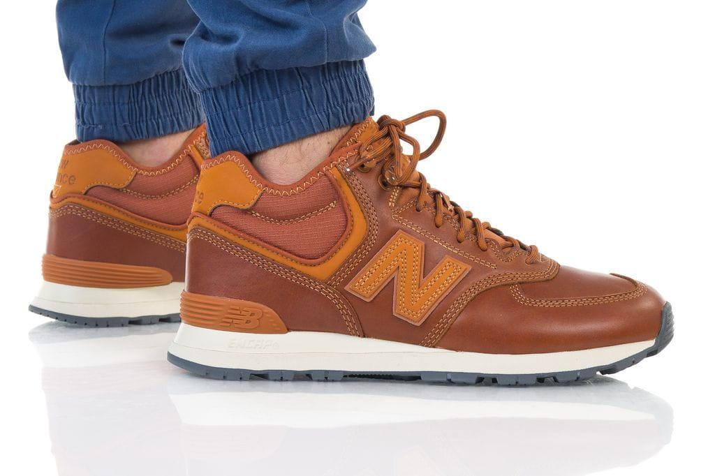 נעליים ניו באלאנס לגברים New Balance MH574OAD - חום