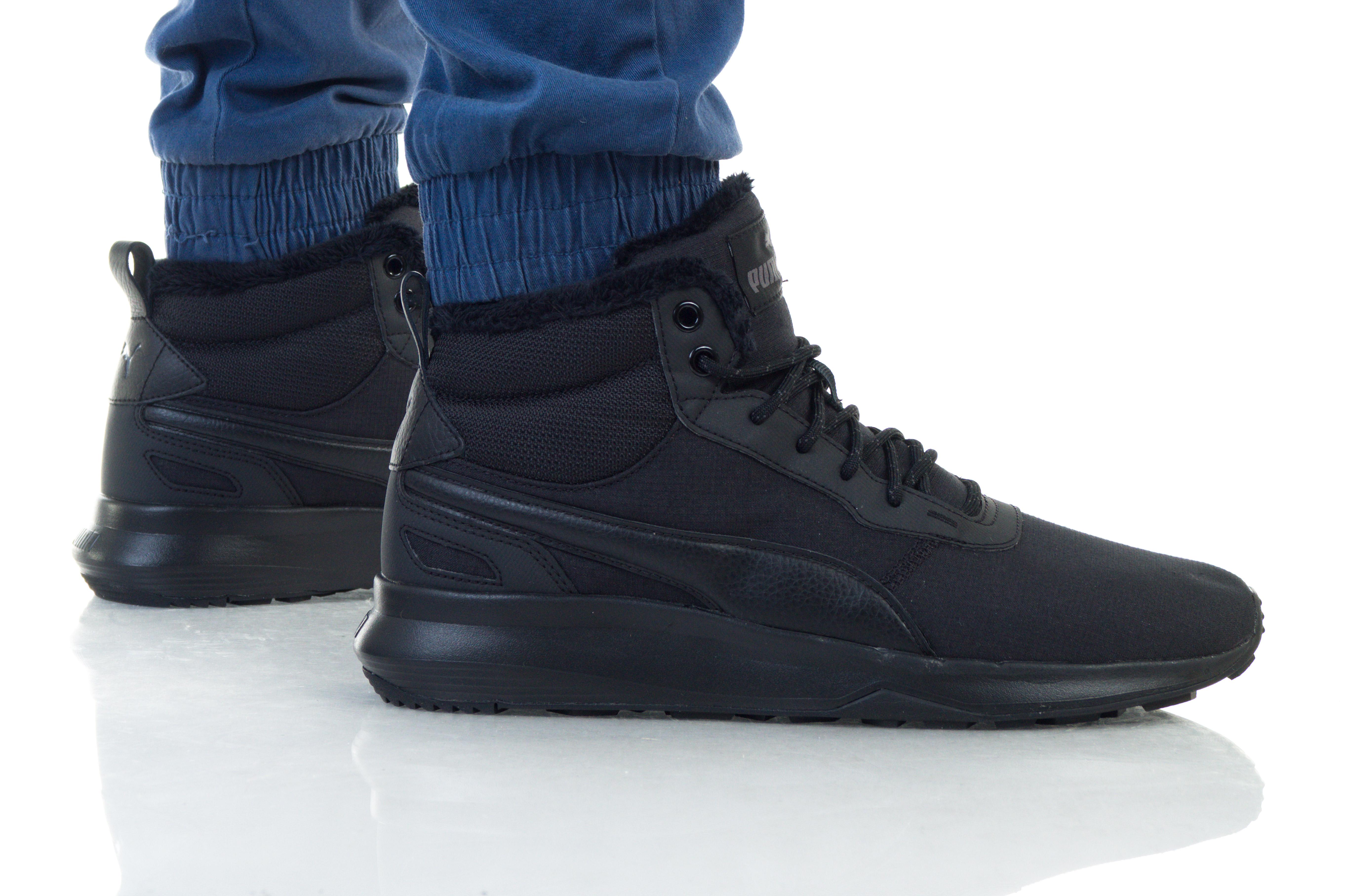נעליים פומה לגברים PUMA ST ACTIVATE MID WTR - שחור