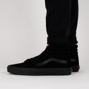 נעליים ואנס לגברים Vans Sk8-Hi - שחור מלא