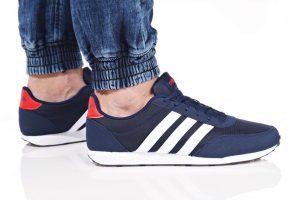 נעליים אדידס לגברים Adidas V RACER 2 - כחול/אדום