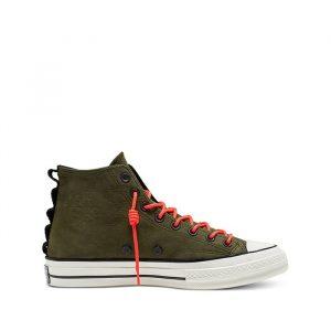 נעליים קונברס לגברים Converse Chuck 70 SP HI - ירוק זית
