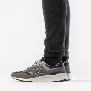 נעליים ניו באלאנס לגברים New Balance 997 - אפור כהה