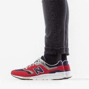 נעליים ניו באלאנס לגברים New Balance 997 - אדום