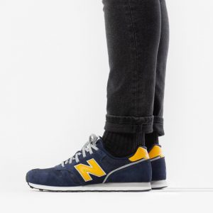 נעליים ניו באלאנס לגברים New Balance 373 - כחול/צהוב