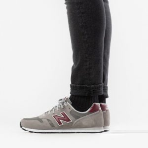 נעליים ניו באלאנס לגברים New Balance 373 - אפור/אדום
