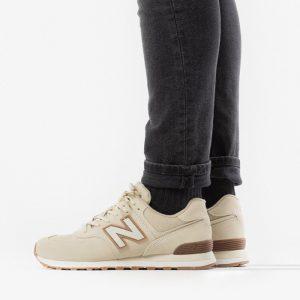 נעליים ניו באלאנס לגברים New Balance ML574 - בז'