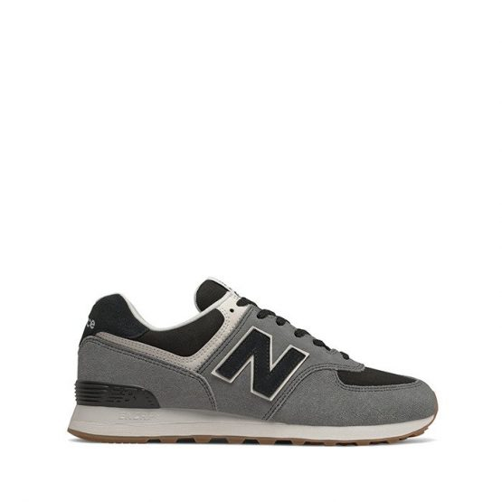 נעליים ניו באלאנס לגברים New Balance ML574 - אפור/שחור
