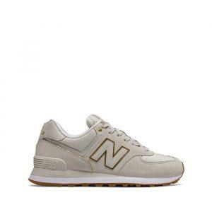 נעליים ניו באלאנס לנשים New Balance 574 - אפור בהיר
