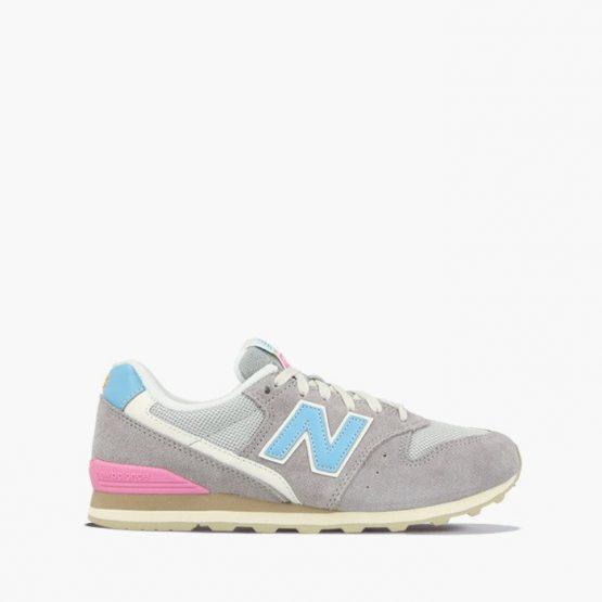 נעלי סניקרס ניו באלאנס לנשים New Balance WL996 - אפור/ורוד