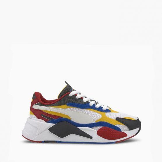 נעלי סניקרס פומה לגברים PUMA RS X 3 Puzzle - צבעוני בהיר